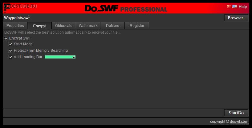 DoSWF Encrypt